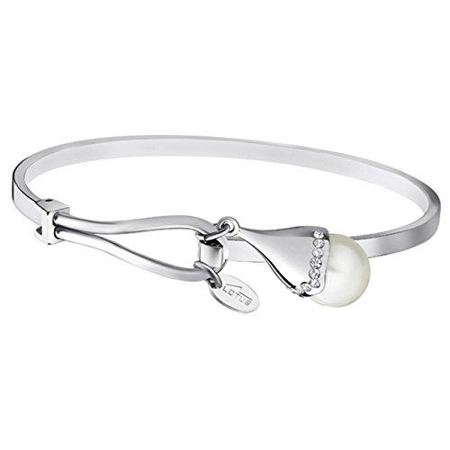 Lotus Style Bracelet Femme Motif Perle Pearls acier-LS1852-2/1 (Tous Armband Perle)