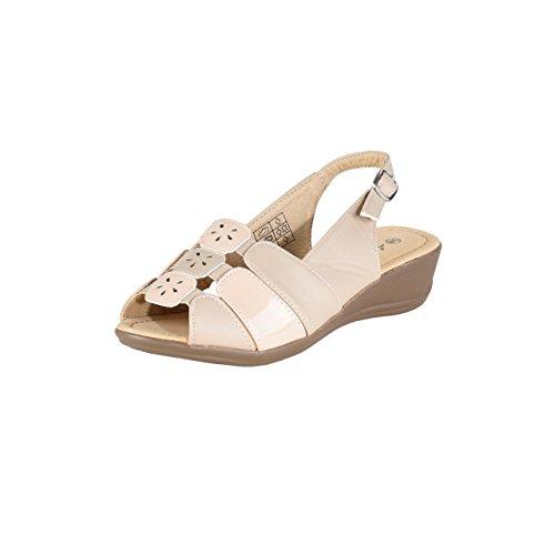 Chaussure Hsm Marketing, Mocassini Donna Beige Beige Beige