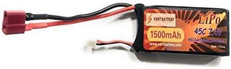 YUNIQUE France ® 1 Piece LiPo Batterie 1500mAh 7.4V 7.4V 7.4V 45C pour Passe-Temps RC Toys RC Car RC Hélicoptères RC Avion RC Bateau RC Truck T-Plug | Faible Coût  8417aa