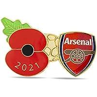 Arsenal Poppy Football Pin 2021