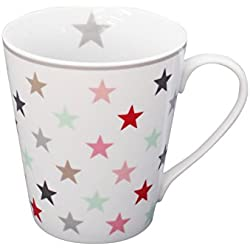 Mug, White Multi handle H: 10