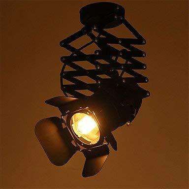 Moderne Kronleuchter Deckenleuchten Anhänger Max 60W Vintage Led Track Light Loft Industrial Spotlight Pendelleuchte Black Track Lights Strahler Bekleidungsgeschäft Deckenleuchte 3C Ce FCC Rohs für W -