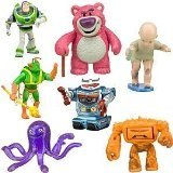 (Toy Story 3 Exclusive Villains 7Pack Figurine Playset Buzz Lightyear, LotsOHuggin Bear, Big Baby, Twitch, Chunk, Stretch and Sparks by Toy Story)