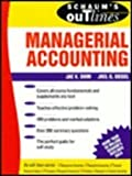 Schaum's Outline of Theory and Problems of Managerial Accounting (Schaum's Outline S.)