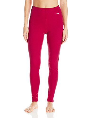 Duofold Women's Thermal Pant, Berry Delight, S