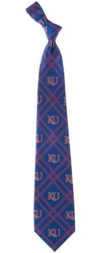Eagles Wings Kansas Jayhawks Woven Polyester 2 Adult Tie from Woven Polyester 2 Tie