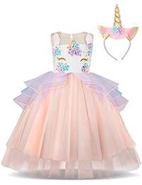 879e8b90a7f Amazon.fr   Rose - Robes   Fille   Vêtements