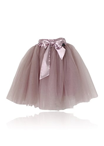 DOLLY by Le Petit Tom ® ROMANTIC LONG TUTU dusty pink Teen +Lady / dusty pink / polyester