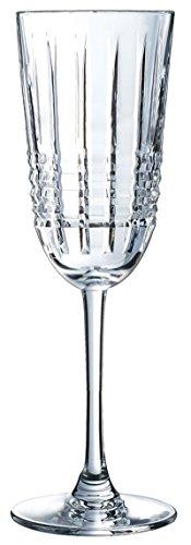 Cristal d'Arques Rendez-Vous champagne gobelet 170ml, sans repère de remplissage, 6 Pièces