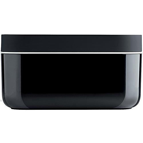 Lékué Ice Negro Eisbereiter-Box 12x22x17 cm in schwarz, Kunststoff, 12x22x8 cm