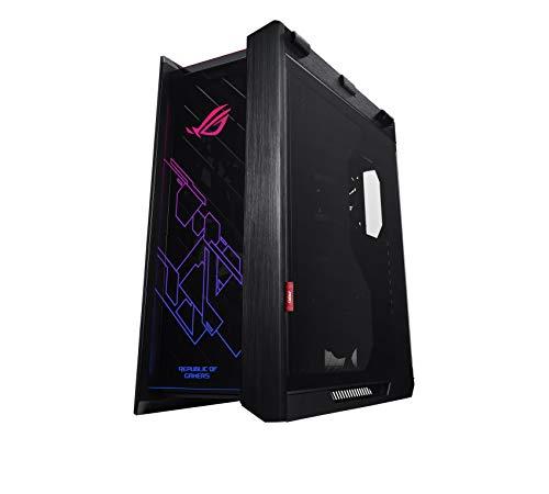 ASUS ROG Strix Helios PC Gehäuse (Aura Sync, Kabelmanagement, Sichtfenster, EATX) schwarz