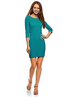 oodji Ultra Women's Basic Jersey Dress