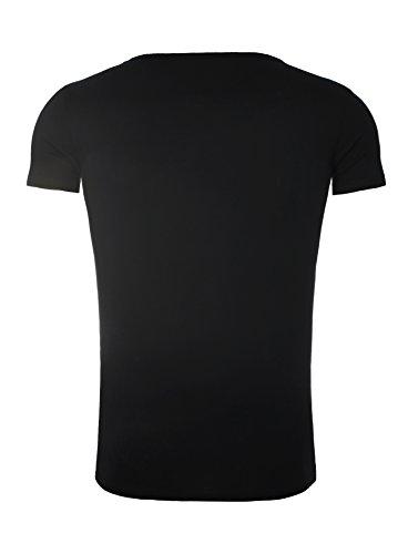 Redbridge T-Shirt schwarz Schwarz