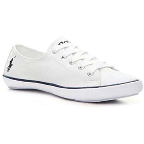 Ralph Lauren Polo Damen Canvas Sneaker Weiß (38.5)