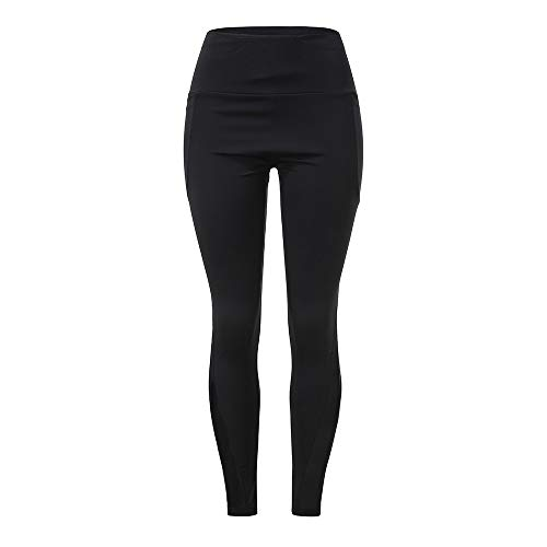 Damen Leggings, Sumeiwilly Frauen Lang Sporthose Stretch und Hohe Taille Sporthose Laufen Yogahose Übergröße Fitnesshose für Damen -