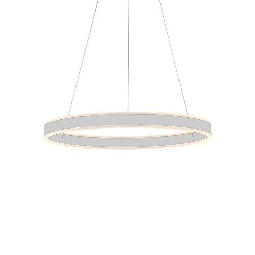 eurohan pantalla lámpara colgante 2137 Blanco Neutro, altura ...