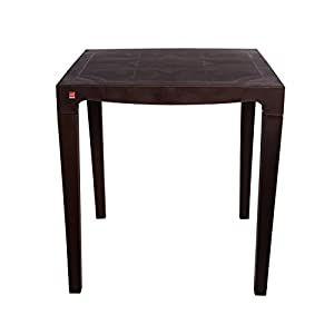 Cello Eden Four Seat Dining Table (Ice Brown)