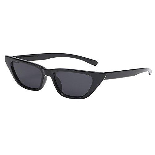 Battnot☀👓 Sonnenbrille für Damen Herren, Unisex Vintage Katzenaugen Form Rahmen Mode Anti-UV Gläser Sonnenbrillen Schutzbrillen Männer Frauen Retro Billig Cat Eye Sunglasses Fashion Women Eyewear