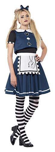 Smiffy's 44343S - Dark Day Dreamer Kostüm mit Schichtenkleid und (Dark Heart Queen Kostüm)