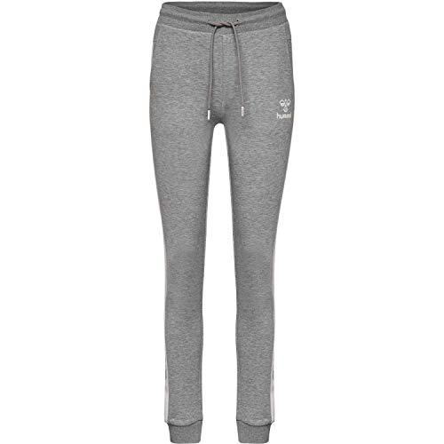 Hummel Damen HMLOLIVIA Pants Hose Grau Melange, XL Preisvergleich