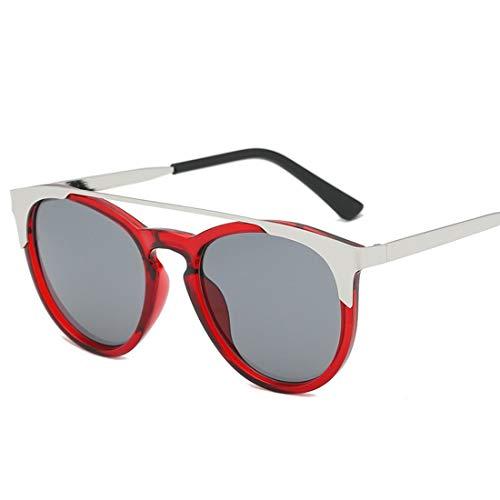 Lieyliso Roubd Sonnenbrillen Kunststoffrahmen für Männer Frauen Sonnenbrillen für Männer Radfahren Laufen Fahren Angeln (Color : C)