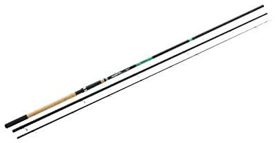 Mitchell Fluid 363 5-20 Match Rod - Black/Green, 12 Ft from Mitchell