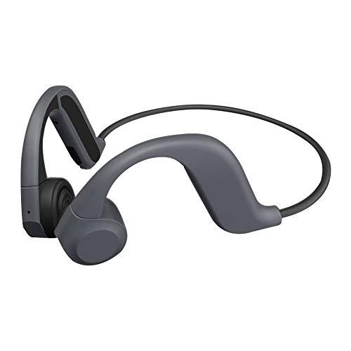 Knochenleitung Bluetooth Headset, wasserdichte Sport-Kopfhörer mit eingebauten 8 GB Arbeitsspeicher Dual Mic Noise Reduction, geringen Stromverbrauch, leicht zu tragen