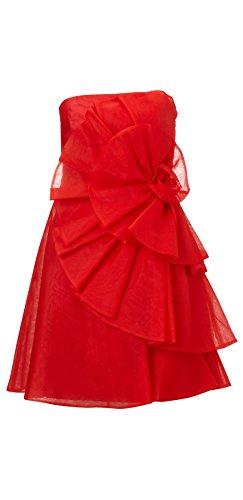 Amelia Silk Organza Short Dress