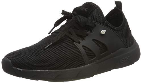 British Knights Herren TRIMM Sneaker, Schwarz (Black/Black 07), 44 EU