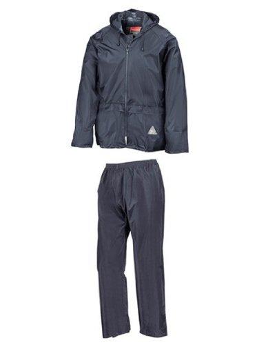 Regenanzug ( Jacke und Hose), absolut wasserdicht ,navy, M M,Navy