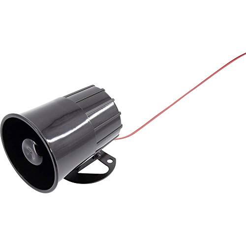 TRU COMPONENTS TC-6645376 Miniatur Sirene Geräusch-Entwicklung: 115 dB 20 W Spannung: 24 V 1 St. Sirene 20w