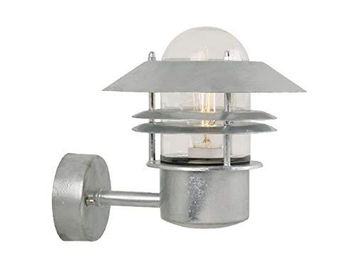 Eglo Aussen Wandleuchte Modell Milton In Verzinktem Stahl Und Klarem Glas Beleuchtung Hv 1 BüGeln Nicht Decken- & Wandleuchten