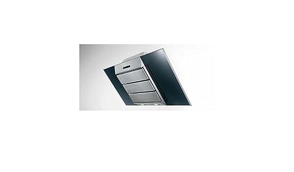Wandhaube cm mit abdeckung ohne schacht abluftbetrieb in
