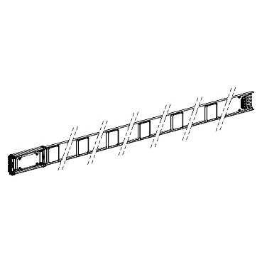 schneider-electric-kna160ed4303-canalis-kn-tronon-droit-3-sorties-de-drivation-3l-n-pe-3-m-longueur-