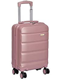 Killer ABS Hardsided Trolley Bag/Suitcase - 18 Inch (Blade-Rose Gold)