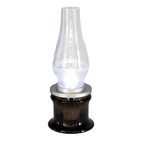 Kerosin Style LED Lampe Blow und Ausschalten batteriebetrieben Verstellbare Laterne