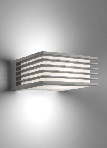 Philips shades lampada da parete da esterno alluminio - Philips lampade esterno ...