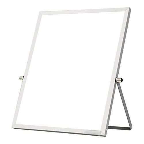 Ozzptuu Tragbares Whiteboard Whiteboard Whiteboard Schreibtisch-Staffelei 360
