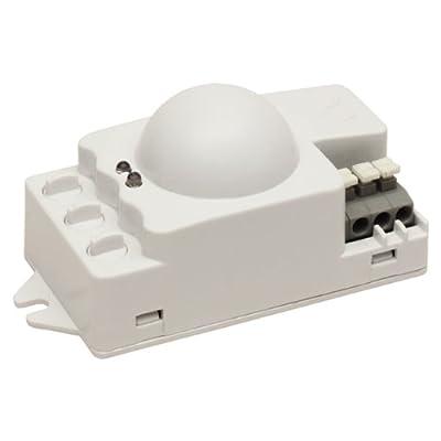 Mikrowellen Bewegungsmelder Präsenzmelder Sensor 360 Grad - 9m Reichweite 1200W von no name - Lampenhans.de