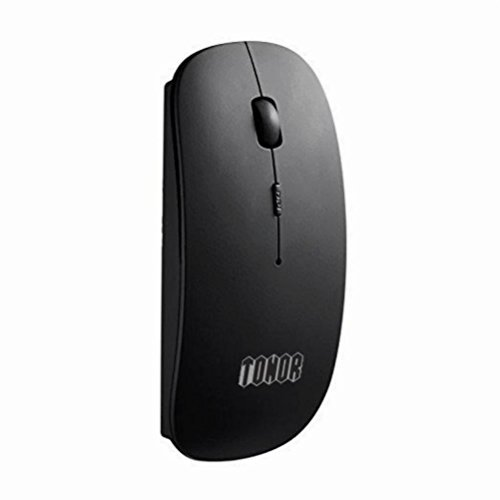 tonor wiederaufladbar Bluetooth Maus ultra dünn black-newest Vesion