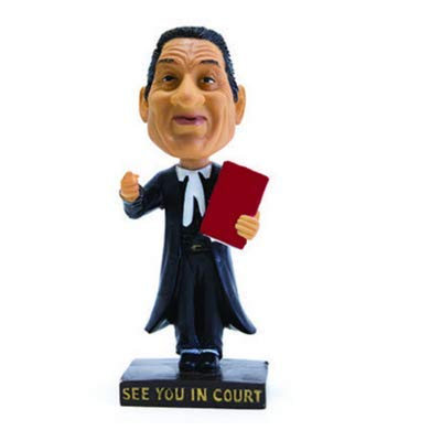 Law Suits And More Flawed Factory Second Lawyer Bobblehead - Figurine - Gifts for Lawyers, Advocates, Solicitors, Ideal Gift for Legal Fraternity