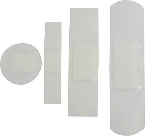 Wundverband Strips 100er wasserfest 4 Größen sort. transparent, atmungsaktiv, einzeln verpackt