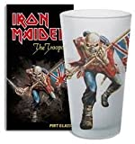 Iron Maiden Pint Glass The Trooper Bicchieri Boccali