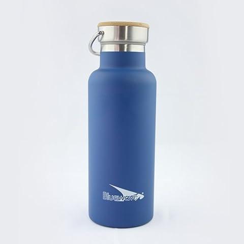 Botella D2(500ml) de doble pared con aislamiento–botella de deporte de acero inoxidable
