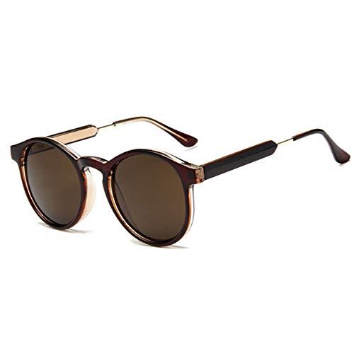 Sport-Sonnenbrillen, Vintage Sonnenbrillen, Retro Round Sunglasses Women Men Transparent Female Sun Glasses Men Oculos De Sol Feminino Lunette Soleil 02