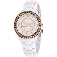 Miss Sixty R0753118503 - Reloj con correa de caucho para mujer, color marrón/gris