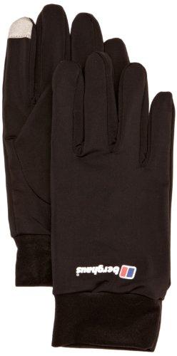 Berghaus Erwachsene Handschuhe Berg Liner Gloves AU, Black, L, 4-21055BP6