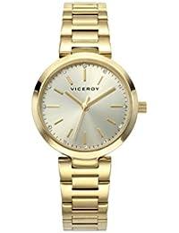 79b224ffd7a2 Amazon.es  relojes viceroy - Dorado   Relojes de pulsera   Mujer ...