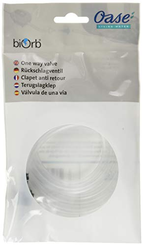 OASE biOrb Luftschlauch mit Rückschlagventil - Anti-Rücklauf Aquarium Schlauch, transparente air hose für biOrb Luftpumpen, 1 m