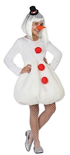 Imagen de atosa  disfraz muñeco de nieve, niña t3